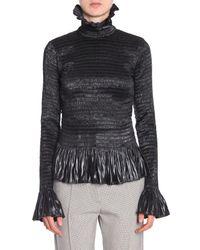 Maison Margiela Polyester Sweater - Black