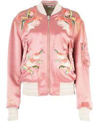 Gucci Fication Bomber Jacket - Pink