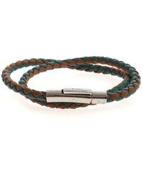 Tod's Weave Bracelet - Green