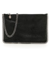 Stella McCartney Falabella Clutch Bag - Black