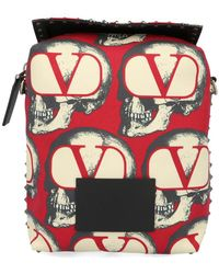 Valentino X Undercover Skull Logo Shoulder Bag - Multicolour