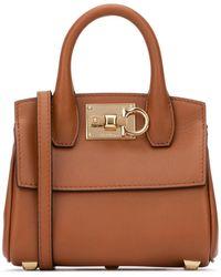 Ferragamo Studio Handbag - Brown