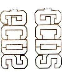 Gcds - Logo Earrings - Lyst