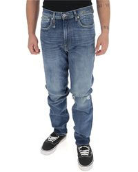 R13 Tapered Slim-fit Jeans - Blue