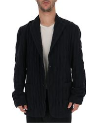 Issey Miyake Knitted Blazer - Black