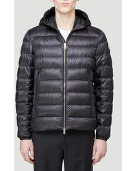 Moncler Hooded Puffer Jacket - Black
