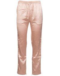 Kappa X Juicy Couture Enea Logo Printed Track Pants - Pink