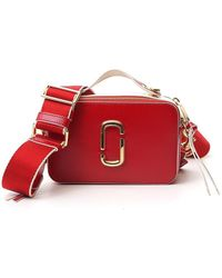 Marc Jacobs The Sure Shot Crossbody Bag - Red