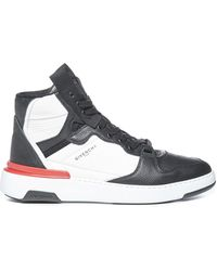 Givenchy Wing High Top Trainers - Grey