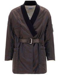 Ambush Ma-1 Kimono Coat - Black