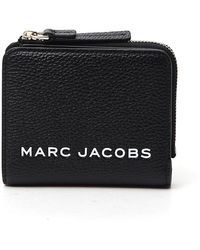 Marc Jacobs The Bold Mini Compact Zip Wallet - Black