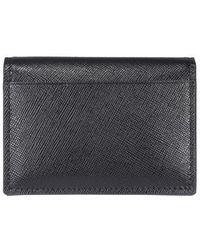 DSquared² Logo Plaque Folded Wallet - Black