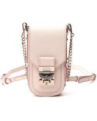 MCM Patricia Crossbody Bag - Pink