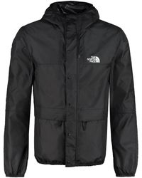 The North Face Mountain Hooded Windbreaker - Black
