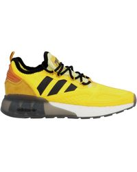 adidas Originals Ninja Zx 2k Boost Trainers - Yellow