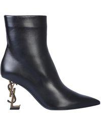 Saint Laurent Opyum Boots - Black