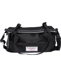 Givenchy Downtown Leather-trimmed Holdall - Black