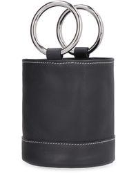 Simon Miller Bonsai Mini Bucket Bag - Black