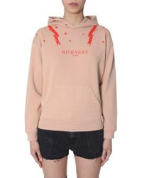 Givenchy - Front Logo Hoodie - Lyst