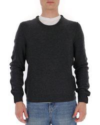 Maison Margiela - Crewneck Knitted Sweater - Lyst
