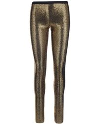 Gucci Sequinned Stockings - Metallic