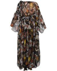 Dolce & Gabbana Draped Wide-leg Jumpsuit - Multicolour