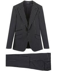 Dolce & Gabbana Sicilia Three-piece Suit 52 Wool - Multicolour