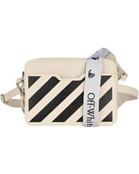 Off-White c/o Virgil Abloh Diagonal Stripe Crossbody Bag - White