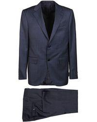 Ermenegildo Zegna 22m22y722038blu Suit - Blue