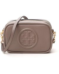 Tory Burch Perry Bombé Mini Bag - Grey