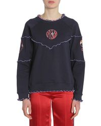 Opening Ceremony Sweatshirt With Oc Patch - Blue