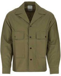 Visvim Sun Setters Print Jacket - Green
