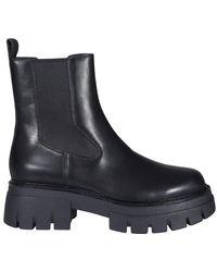 Ash Lenny Chelsea Boots - Black