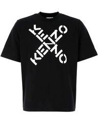 KENZO Sport Big X T-shirt - Black