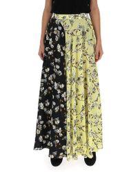 Off-White c/o Virgil Abloh Clash Floral Patterned Skirt - Multicolor