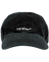 Off-White c/o Virgil Abloh Logo Baseball Cap - Black