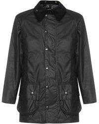 Barbour Beaufort Wax Jacket - Black