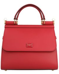 Dolce & Gabbana Sicily 58 Tote Bag - Red