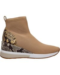 Michael Kors Shoes High Top Sneakers Sneakers Skyler - Natural