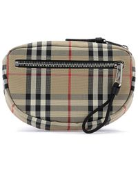 Burberry Vintage Check Small Cannon Bum Bag - Natural