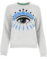 KENZO Eye Sweatshirt - Grey