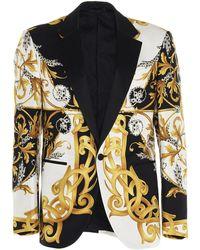 Versace Baroque Tuxedo Blazer - Multicolour