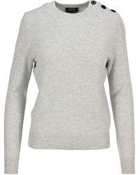 A.P.C. Caroline Knitted Jumper - Grey