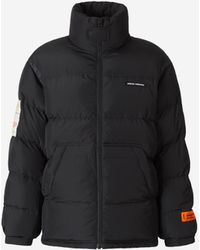 Heron Preston Padded Patches Jacket - Black