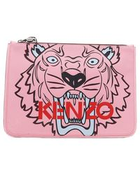 KENZO - A4 Tiger Pouch - Lyst