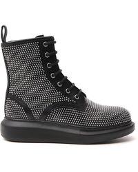 Alexander McQueen Studded Boots - Black