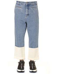 Loewe Fisherman Jeans - Blue