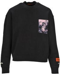 Heron Preston Heron Printed Sweatshirt - Black