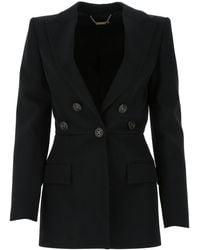 Givenchy Single Breasted Blazer - Black