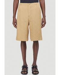 Gucci GG Monogram Bermuda Shorts - Natural